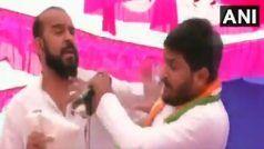 Hardik Patel Slapped at Jan Akrosh Rally in Gujarat's Surendernagar, Accused Detained
