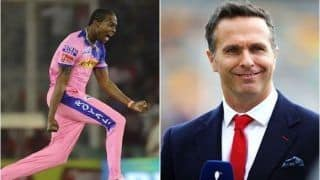 Michael Vaughan Bats For Jofra Archer, Pledges to go Naked if ECB Don't Include All-Rounder in England Squad For World Cup 2019 | WATCH VIDEO