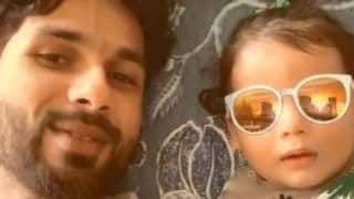 Shahid Kapoor Gets Goofy With Son Zain Kapoor, Shares Adorable Video