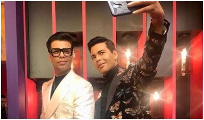 Karan Johar Unveils His Wax Statue at Madame Tussauds Singapore, See Pics