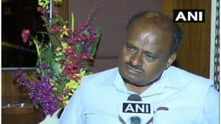 Kumaraswamy Washes Hands of Farmers' Protest Over Water Paucity, Says It's For Centre to Take Call