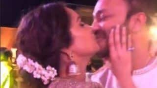 Ankita Lokhande Kisses Boyfriend Vicky Jain at Wedding Party, Video Goes Viral