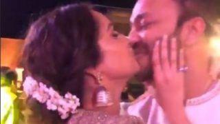 Ankita Lokhande Kisses Boyfriend Vicky Jain at Wedding Party, Video Goes Viral