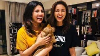 Parineeti Chopra, Priyanka Chopra  Introduce New Family Member Bailey Chopra