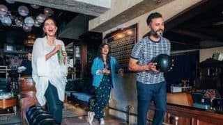 Sonam Kapoor Ahuja And Anand Ahuja Enjoy a Session of Bowling in Los Angeles, See Picture