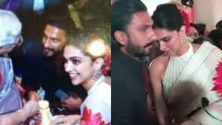 Deepika Padukone-Ranveer Singh Make a Perfect Couple in Latest Wedding Pictures