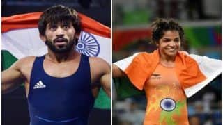 Bajrang Punia, Sakshi Malik to Lead India's Challenge at Asian Wrestling C'ships