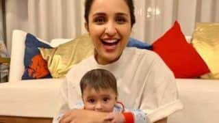 Parineeti Chopra Shares Adorable Picture With Sania Mirza's Son Izhaan Mirza Malik