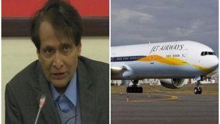 केंद्रीय मंत्री सुरेश प्रभु ने नागर विमानन सचिव को जेट एयरवेज के मुद्दों की समीक्षा के दिए निर्देश