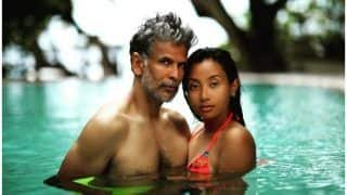 Ankita Konwar-Milind Soman's oh-so-Dreamy Picture And Mushy Promises Will Melt Your Heart With Romance This Monsoon!