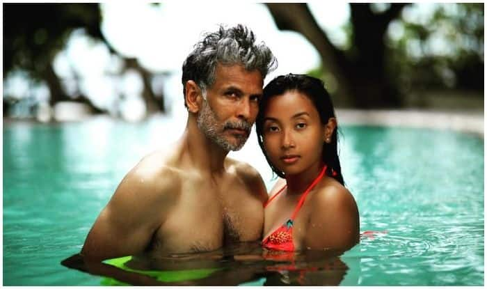 Milind Soman-Ankita Konwar Amp up Couple Goals as They Beat The Heat in Tropical Waters, Latest Beach Picture Goes Viral