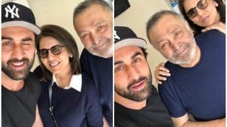Ranbir Kapoor is 'Amazing' Face of 'Positivity' For Parents Neetu-Rishi Kapoor as he Visits The Duo in US
