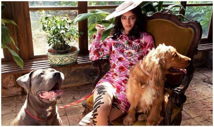 Ananya Panday's Floral 70's Goals in The Lap of Nature And Company of Canines is Too Beautiful to Miss!