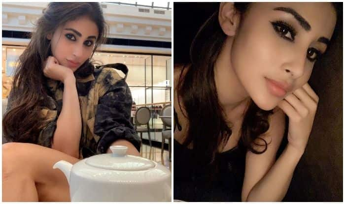 Mouni Roy's Smudgy Eye Look And Half Clutched Messy Hair Makes Fans Drool as They Watch 'Re-Run of GOT'