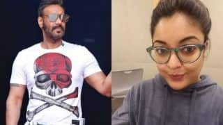 Ajay Devgn Has This to Say on Tanushree Dutta's Allegations