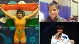 Three Indian Women Divya Kakran, Manju Kumari and Seema Enter Bronze-Medal Playoffs at Asian Wrestling