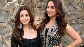 Kalank: Sonakshi Sinha Joins Alia Bhatt on Stage as Latter Swirls to 'Ghar More Pardesiya' - Watch