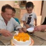 Salman Khan's Nephew Ahil Can't Stop Shrieking as 'Nanu' Salim Cuts Cake, Viral Video Drips With Love