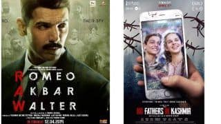 Box Office Predictions as Romeo Akbar Walter (RAW) And No Fathers in Kashmir Lock Horns This Friday