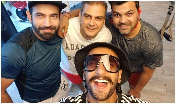 '83 Star Ranveer Singh's Gym Selfie With Cricketer Irfan Pathan is All You Need to Head to Gym This Weekend!