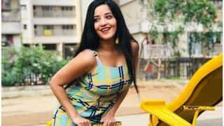 Bhojpuri Sensation Monalisa's Monday Vibes in Playground Look Contagious And THIS Picture is Proof!