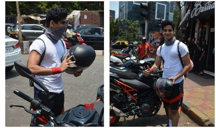 Dhadak Actor Ishaan Khatter Pays Fine of Rs 500 After Bike Gets Towed From No-Parking Zone