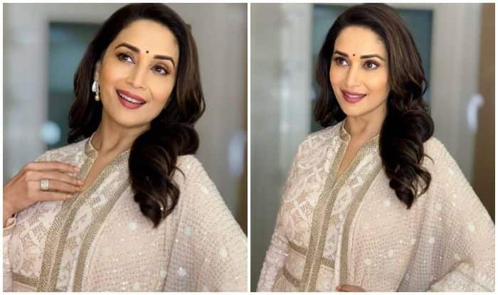 Madhuri Dixit Nene Has THIS Advice Ahead of New Week, Glitters Like an Angel in Latest Viral Picture