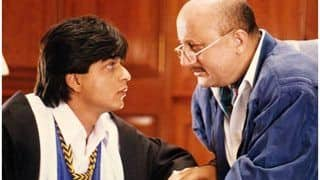 Shah Rukh Khan-Anupam Kher's Twitter Camaraderie in Dilwale Dulhania Le Jayeinge Style Amuses Fans
