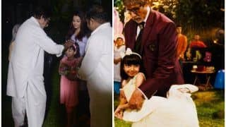 Amitabh Bachchan Feeling 'Immense Joy' on Seeing Aaradhya Destroy His Work Desk is All Grandfathers Ever!