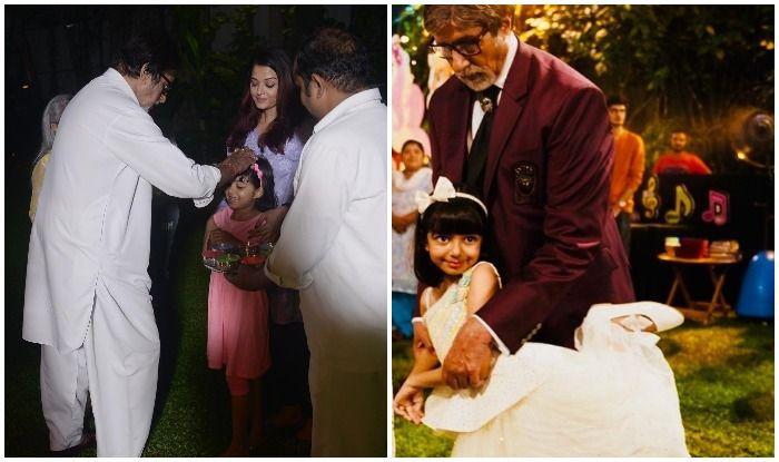 Amitabh Bachchan Feeling 'Immense Joy' on Seeing Aaradhya Destroy His Work Desk is All Grandfathers Ever!