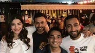 Sonam Kapoor Parties Hard at Haus Khas Village Delhi, Anand Ahuja Shares Video of Wife Grooving