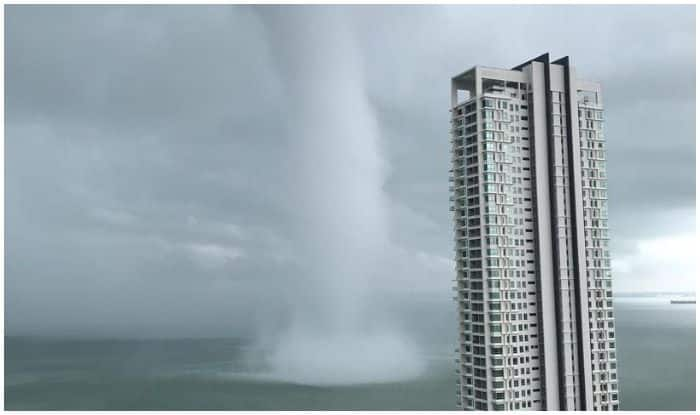 Huge Waterspout in Malaysia Damages at Least 50 Houses, Video Goes Viral