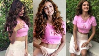 Disha Patani's Million Dollar Smile in Latest Rosy Pink Picture Will Add All The Mirth to Your Weekend!
