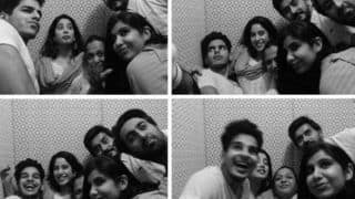 Janhvi Kapoor And Ishaan Khatter Get Goofy in Former's 'Forever Fam' Picture