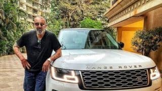 Sanjay Dutt Welcomes His New Range Rover Vogue to The Family, See Picture