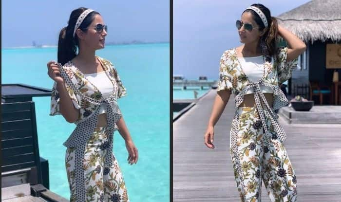 Hina Khan Shares Some More Pictures From Maldives, Looks Hot in a Floral Ensemble