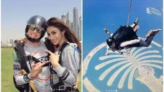 Mouni Roy Goes Sky Diving in Dubai, Calls Herself Special Kind of Idiot- See Pics