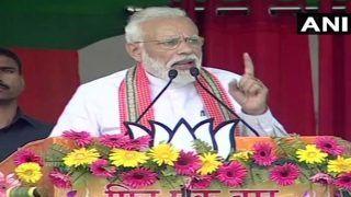 Watch: PM Evokes Poet Dinkar's Lines on Poverty, Attacks Govt in Bihar