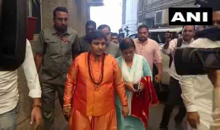 Sadhvi Pragya Thakur Joins BJP, May be Fielded Against Digvijaya Singh From Bhopal
