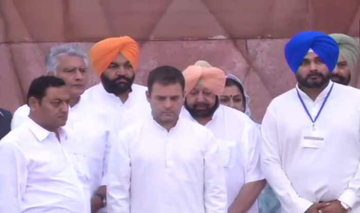 Jallianwala Bagh Massacre 100th Anniversary: PM Modi, President Kovind Remember Martyrs; Rahul Gandhi Pays Tribute at Memorial