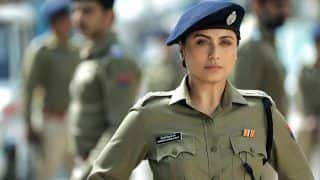 Rani Mukerji's Khaki Vardi Look From Mardaani 2 is Here And we Can Already Hear Whistles in Theatres