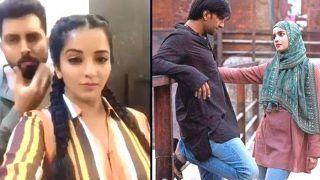 Bhojpuri Bombshell Monalisa, Her Husband Vikrant Singh Rajpoot Copy Alia Bhatt-Ranveer Singh From Gully Boy