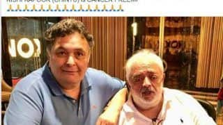 Rishi Kapoor is Cancer Free, Reveals His Friend And Director Rahul Rawail on Facebook