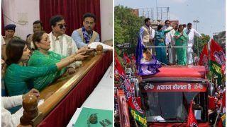 पत्नी के नामांकन में गए शत्रुघ्न को कांग्रेस प्रत्याशी की सलाह, 'पति धर्म निभाया, अब पार्टी धर्म निभाएं'