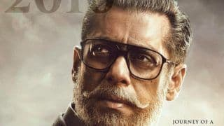 Bharat First Poster: Salman Khan Looks All Crisp And Grey in Bearded Old Avatar