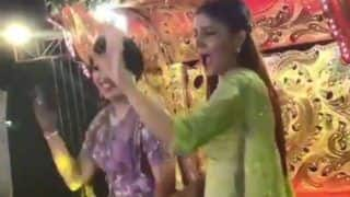 Sapna Choudhary Shakes a Leg With Bride in Her Baraat, Grooves to 'Hat Ja Tau ' - Watch
