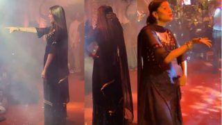 Sapna Choudhary Flaunts Thumkas on Her Popular Tracks During Stage Show in Haldwani
