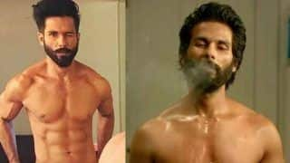 Pic Alert! Shahid Kapoor Shares a Transformation Picture For 'Kabir Khan'
