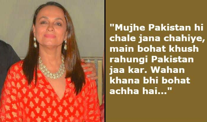 Soni Razdan Says People Want Her to go to Pakistan And She Won't Mind Doing That