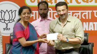 बीजेपी में शामिल हुए सनी देओल, पंजाब के गुरुदासपुर से लड़ सकते हैं चुनाव